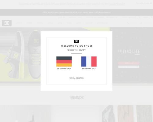 DC Shoes Screenshot