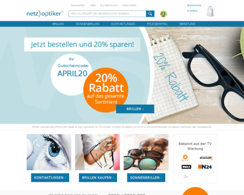 Netzoptiker Screenshot