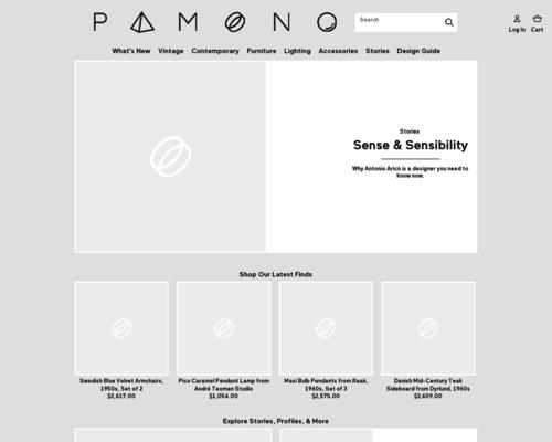 Pamono Screenshot