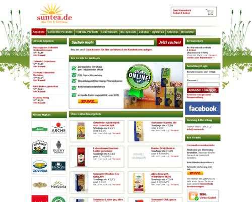 SunTea Screenshot