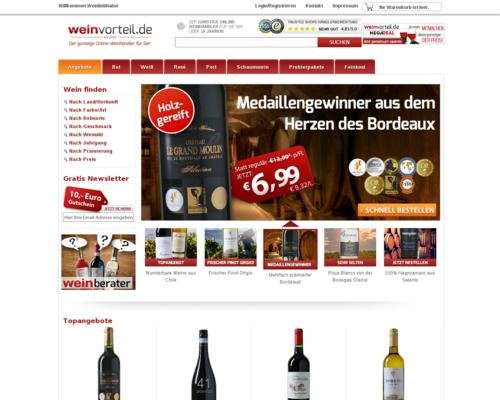 Weinvorteil Screenshot