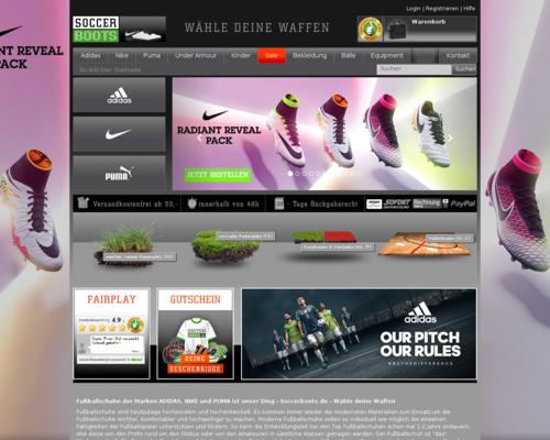 Soccerboots Screenshot