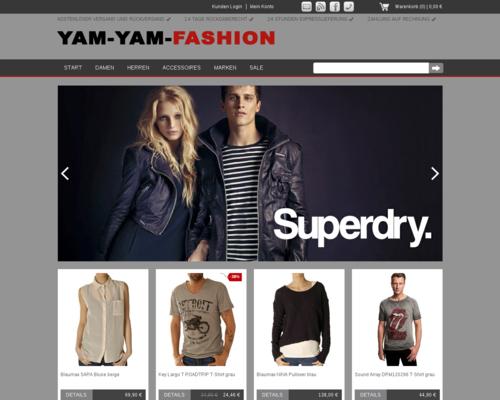 Yam Yam Fashion Screenshot