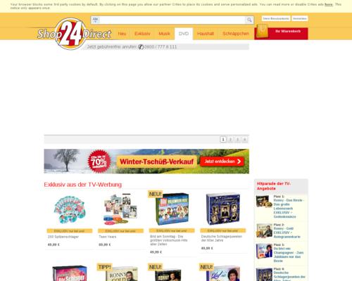Shop24Direct Screenshot