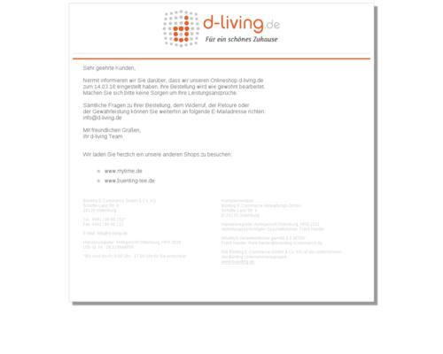 d-living Screenshot