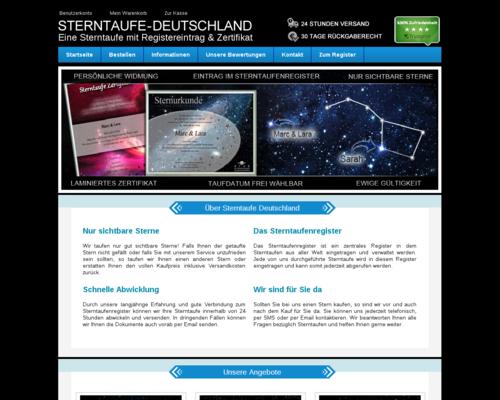 Sterntaufe-Deutschland Screenshot