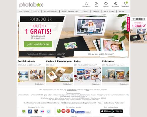 Photobox Screenshot