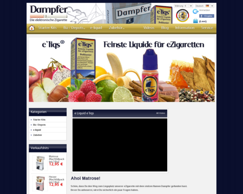 Dampfer Screenshot