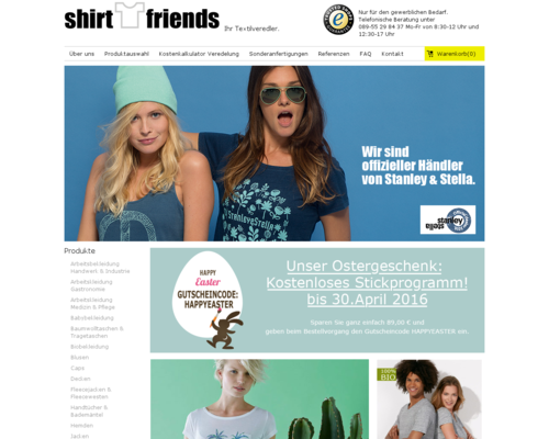 Shirtfriends Screenshot