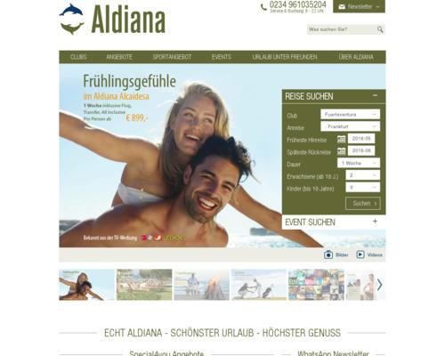 Aldiana Screenshot