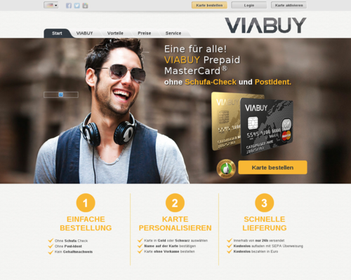 VIABUY Screenshot