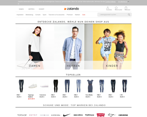 Zalando Screenshot