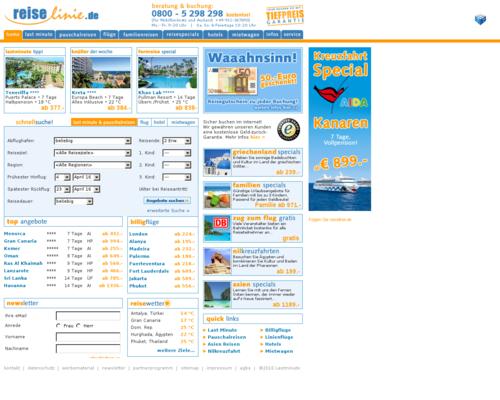 Reiselinie Screenshot