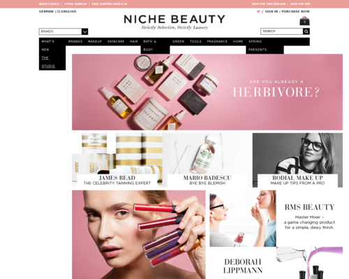 Niche Beauty Screenshot