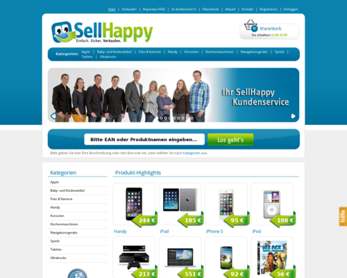 SellHappy Screenshot