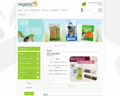 veganic Screenshot
