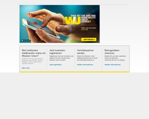 Western Union Screenshot