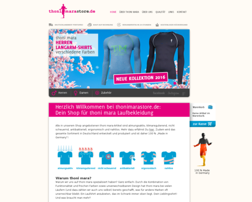 RunnersStore Screenshot