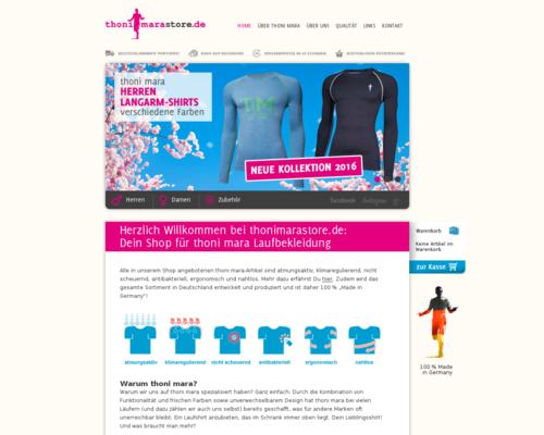 RunnersStore Screenshot