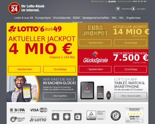 Lotto24 Gutschein Bestandskunden