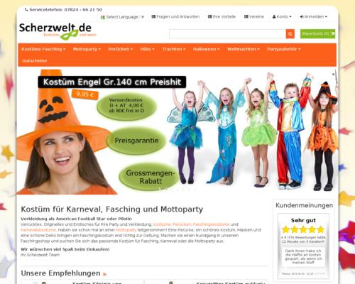Scherzwelt Screenshot