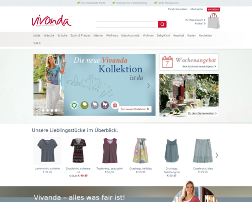 Vivanda Screenshot