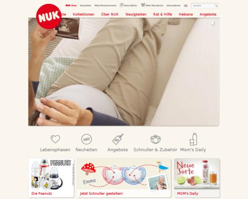 NUK Shop Screenshot