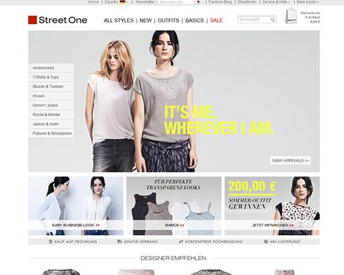 STREET ONE Screenshot