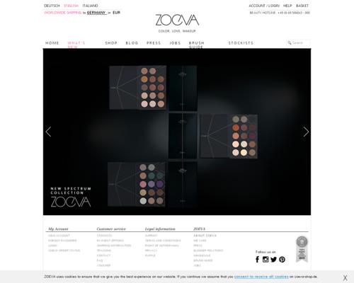 Zoeva Screenshot