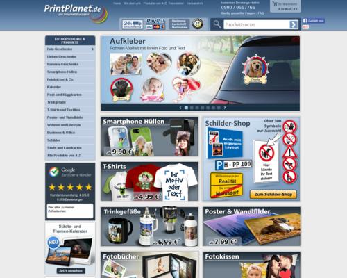 PrintPlanet Screenshot