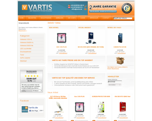 Vartis Screenshot