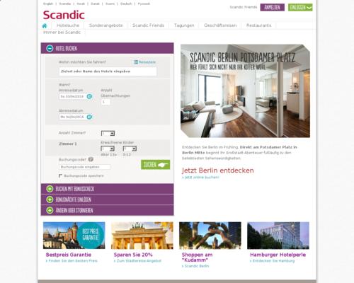 Scandic Screenshot