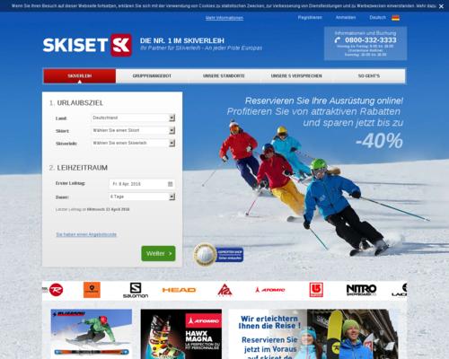 Skiset Screenshot