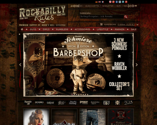 Rockabilly Rules Screenshot