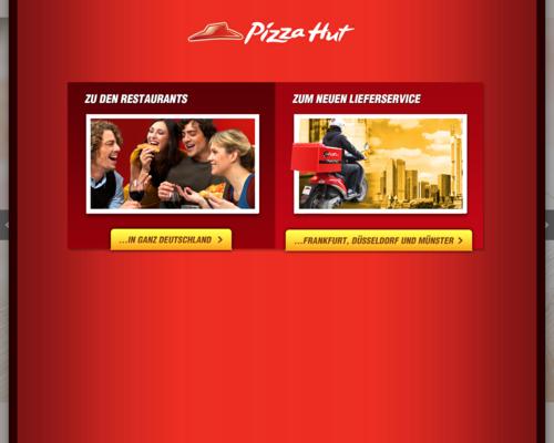 Pizza Hut Screenshot