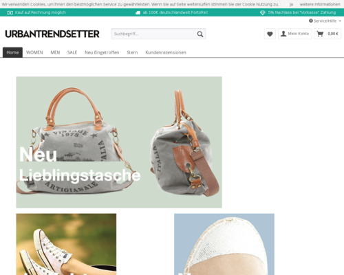 urbantrendsetter Screenshot