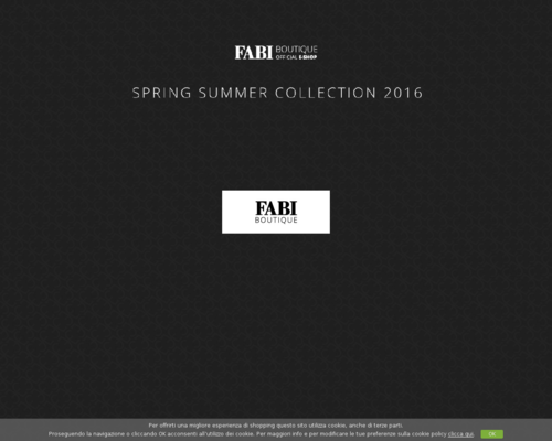 Fabi Boutique Screenshot