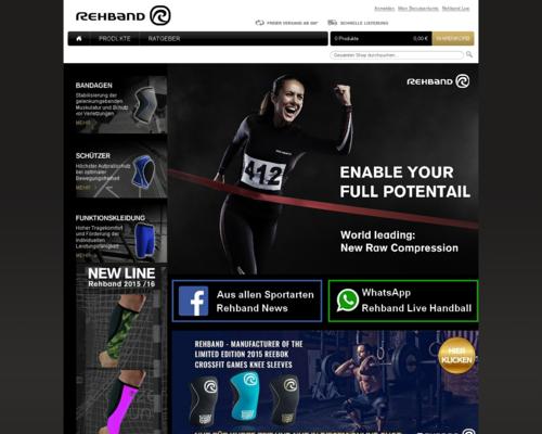 Rehband Screenshot