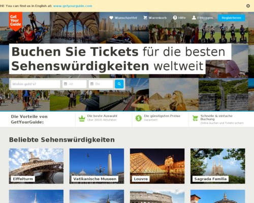 Getyourguide Gutscheine März 2019 Tolle Ausflüge In Berlin