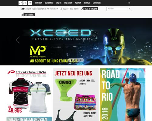 Sportshop Triathlon Screenshot