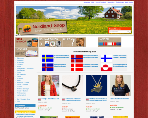 Nordland Shop Screenshot
