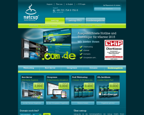 Netcup Screenshot