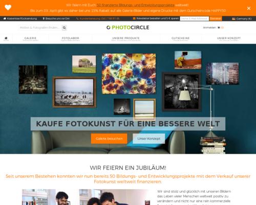 Photocircle Screenshot