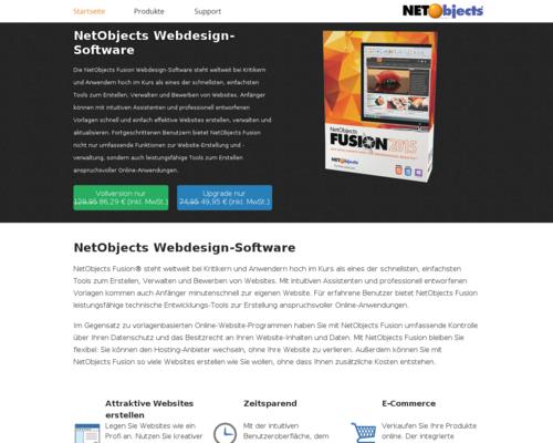 NetObjects Screenshot