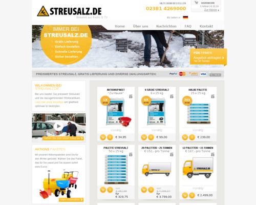 Streusalz.de Screenshot
