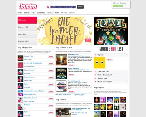 Jamba Screenshot