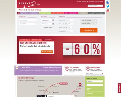 Thalys Screenshot