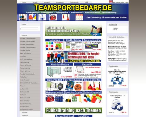 Teamsportbedarf Screenshot