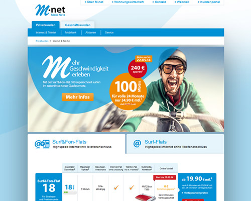 M-net Screenshot