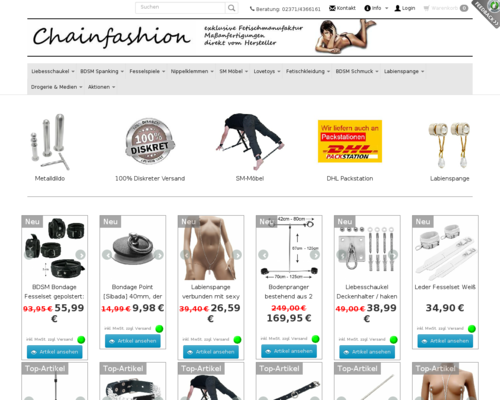 Chainfashion Screenshot